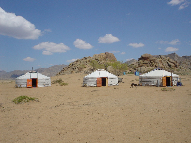 Our ger camp