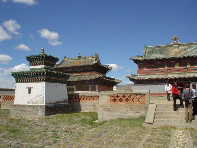 The temples of Erdene Zuu