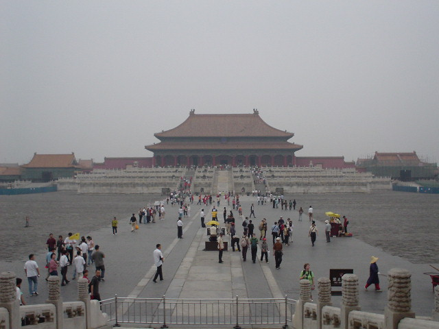 Inside the Forbidden City in Beijing
