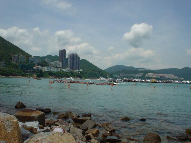 Hong Kong Dragon Boat Festival at Stanley Beach